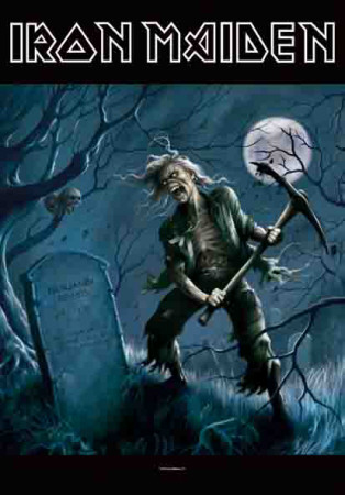 Poster Iron Maiden - Ben Bregg..