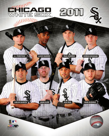 Chicago White Sox 2011 Team Composite