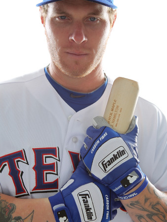 Texas Rangers Photo Day, SURPRISE, AZ - FEBRUARY 25: Josh Hamilton