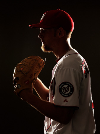 Washington Nationals Photo Day, VIERA, FL - FEBRUARY 25: Stephen Strasburg
