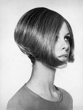 Woman With Modern Haircut