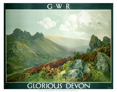 Glorious Devon, GWR, c.1923-1947