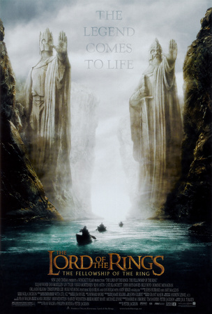 Lord of the Rings 1: The Fellowship of the Ring Poster