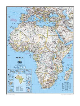 Africa Political Map.
