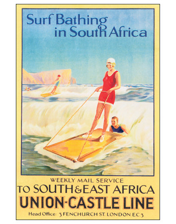 Buy Surf Bathing in South Africa at AllPosters.com