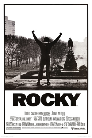 Rocky - Movie Score Arms Up Poster