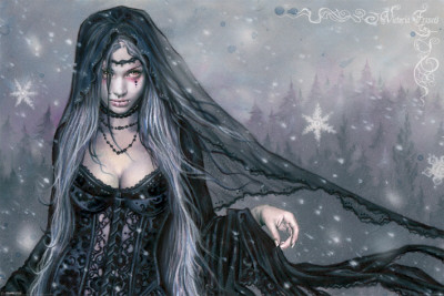 Victoria Frances (Winter Gothic)