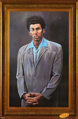 Seinfeld - Kramer Television Poster
