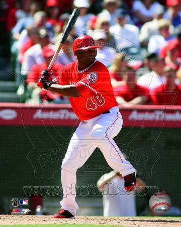 Torii Hunter 2011 Action