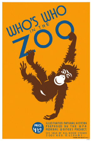Who's Who in the Zoo Posters