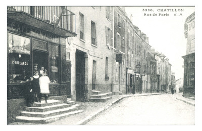 Rue de Paris Chatillon