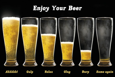 Enjoy Your Beer Posters