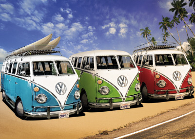 VW Camper - Campers Beach,