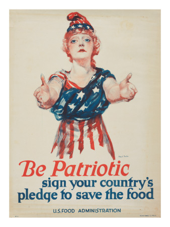 """Be Patriotic: Sign Your Country's Pledge to Save the Food"", 1918"