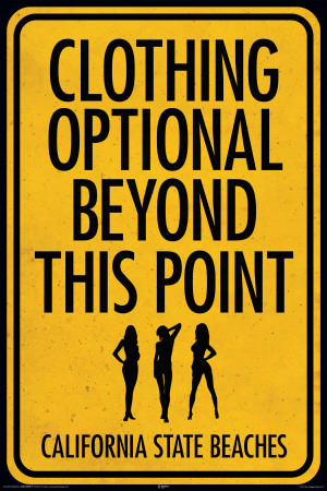 Clothing Optional Posters