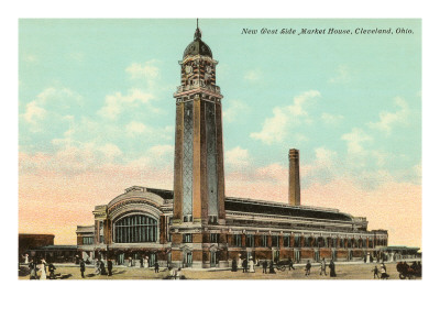 West Side Market House, Cleveland, Ohio
