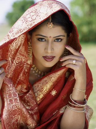 Indien, Bindi als Schmuck
