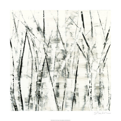 Birches II Posters