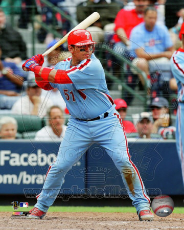 Philadelphia Phillies - Carlos Ruiz 2011 Action