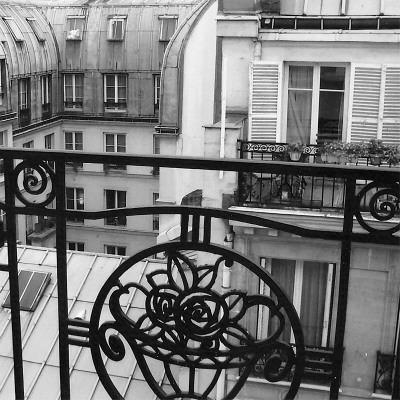 Paris Hotel I Art Print