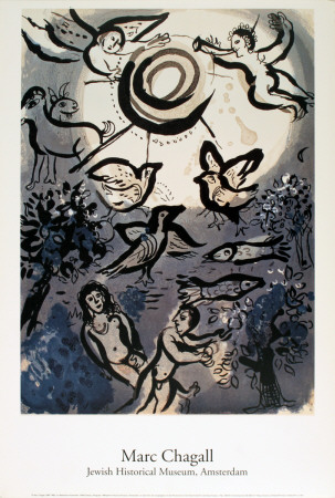 Creation, adam eve, Marc Chagall