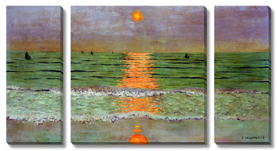 Sunset, 1913 - Stretched Canvas Print