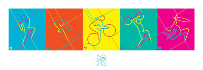 London 2012 Olympics, Dynamic Pictograms
