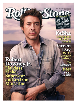 Robert Downey Jr., Rolling Stone ...