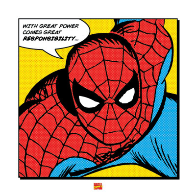 Spider-Man: With Great Power Kunstdruck