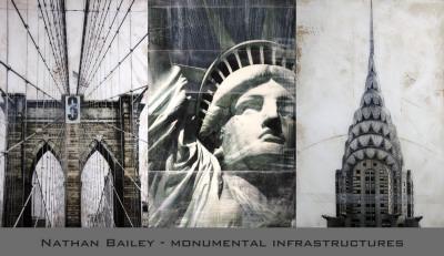 Monumental Infrastructures Art Print