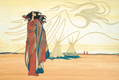 Spirits of the Plains Art Print