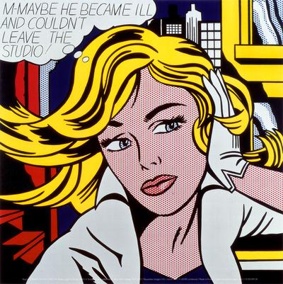 M-Maybe, c.1965 Art Print