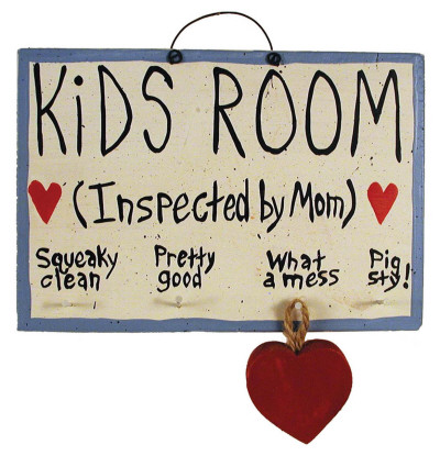 Boy's Room Wood Sign