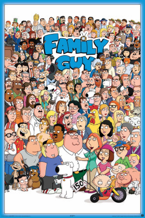Family Guy Cast 2011 Posters
