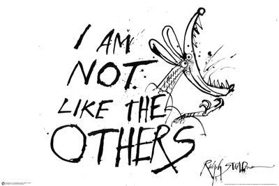 I Am Not Like The Others - Ralph Steadman