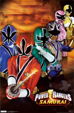 Power Rangers – Group Posters
