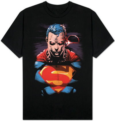 Superman - Red Eyes on Black