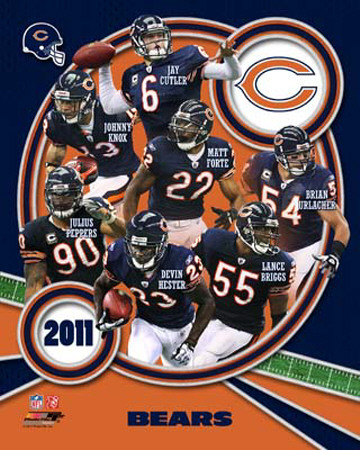Chicago Bears 2011 Team Composite