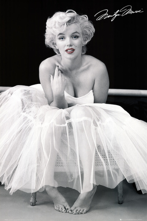 Marilyn Monroe-Ballerina