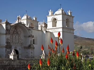 Canyon Colca Peru Yanque Church