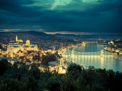 The Danube.