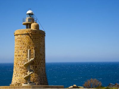 Torre De Gracia Lighthouse, in the Coast of Cadiz, Andalucia, Spain