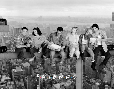 Friends - Over New York Posters