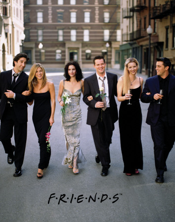 Friends - Dressed Up Posters