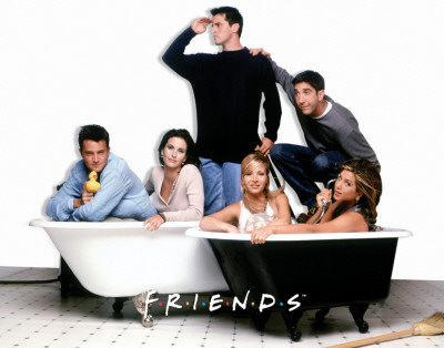Friends - Bath Tubs Posters