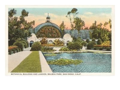 Botanisches Gebäude, Balboa-Park ...