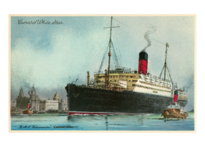 Reprints of Cunard's vessels are available by clicking on the link.