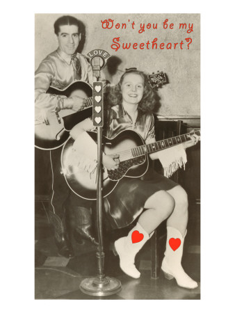 Wont You Be My Sweetheart? Country Singing Duo