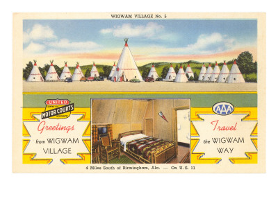 Wigwam Village Number 5, Motel