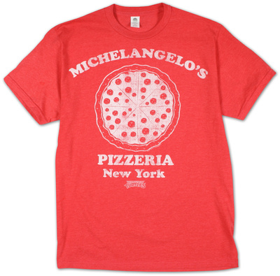 Teenage Mutant Ninja Turtles -  Michelangelo's Pizzeria (Slim Fit)